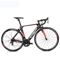 Carbon fiber road bicycle 20 speed 22 speed barge shiman speed changing men's and women's super light racing bike