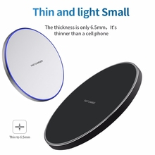 10W Fast Wireless Charger For Samsung Galaxy S9/S9+ S8 S7 Note 9 S7 Edge USB Qi Charging Pad for iPhone XS Max XR X 8 Plus