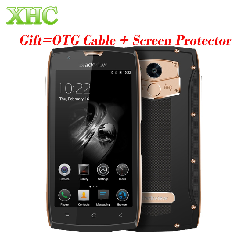 Blackview BV7000 Pro Android 6.0 Mobile Phone IP68 Waterproof 64GB Touch ID 5.5'' FHD 4G LTE MTK6750T Octa Core 3GB Smartphone