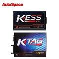 Новый KESS V2 V2.23 V4.036 Прошивки OBD2 Чип-Тюнинг Комплект + KTAG V2.13 FW V6.070 К tag ECU Программист No Знак Предела Мастер Версия