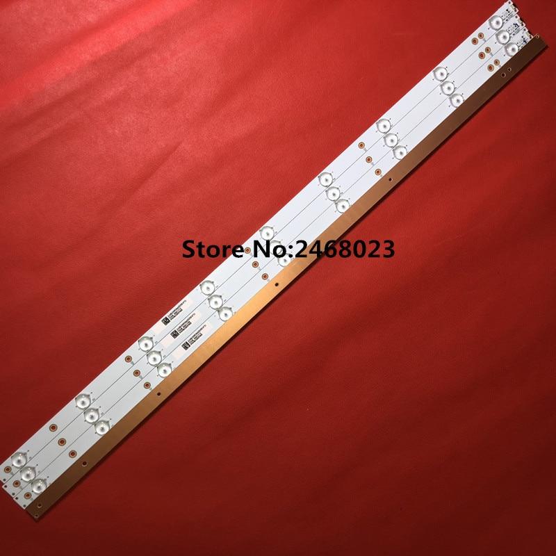 (New Kit) 4 PCS 9LEDs 798mm LED Backlight Strip For So Ny TV KDL-40R380D 40PFL3240 GJ-DLEDII P5-400-D409-V7 TPT400LA-J6PE1