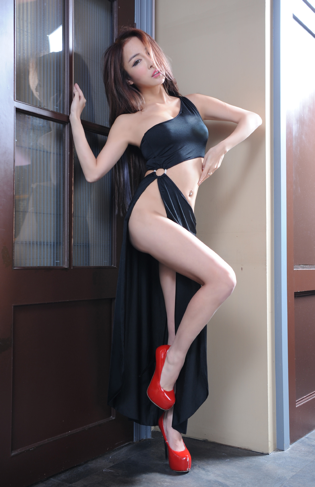 Drop Ship Sexy Lingerie Women Erotic Lingerie Hot Sex Products Sexy Costumes Black Underwear Slips Intimates Dress Sleepwear in Sexy Costumes from Novelty Special Use