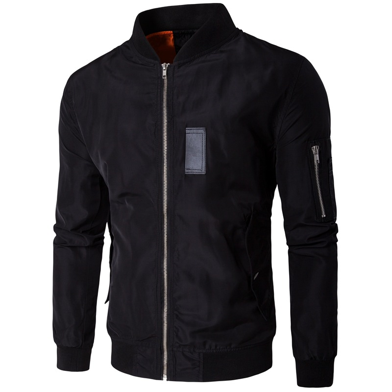 Spring Bomber Jacket Men 2017 Brand New Zipper Mens Jackets and Coats Casual Slim Fit Baseball ...