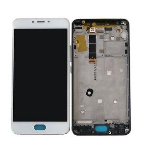 """Image 2 - Test 5.5 """"Meizu U20 Axisinternational LCD ekran + dokunmatik Panel sayısallaştırıcı için çerçeve ile Meizu U20 ekran"""