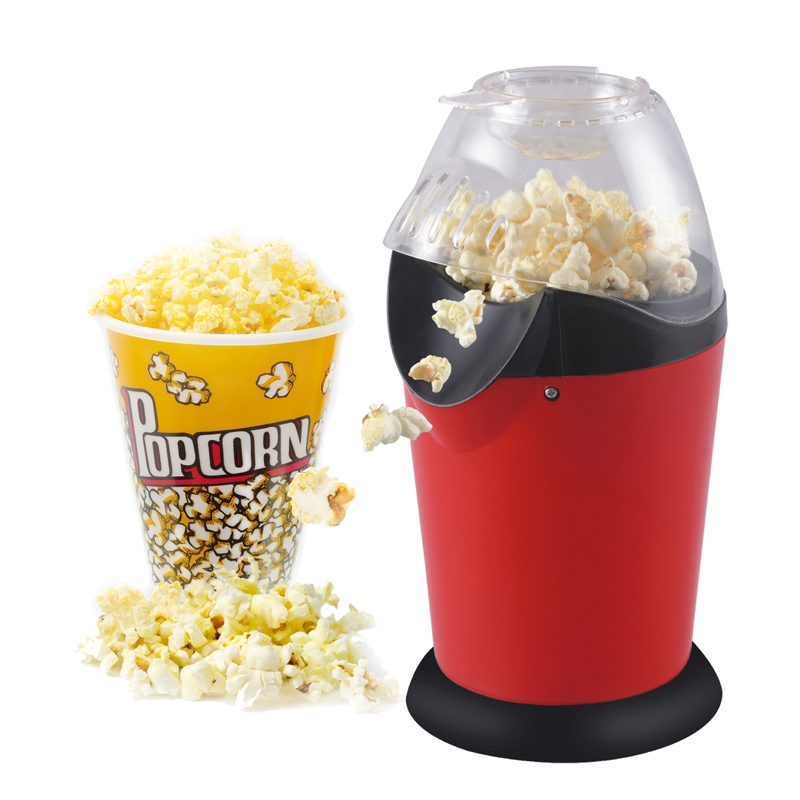 1200W 110v/220v Portable Electric Popcorn Maker Hot Air Popcorn Making Machine Kitchen Desktop Mini DIY Corn Maker 40D