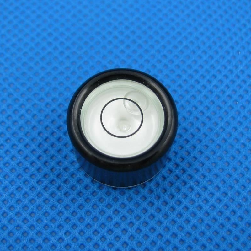 HACCURY Size 19 13 5mm Bubble level Circular Precision Inclinometer Bubble level vial Accessories for font