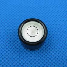HACCURY Size 19 13 5mm Bubble level Circular Precision Inclinometer Bubble level vial Accessories for measuring