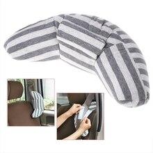 Детское автомобильное сиденье подголовник подушка поддержка плеча подушка хлопок мягкая подушка для сна Автомобильная подушка ремня безопасности аксессуары для тележки