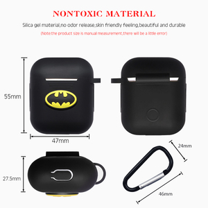 Image 3 - Marvel Wireless Bluetooth Earphone Case For Apple AirPods Charging Headphones Protection Cases Cover Charging Box Accessories