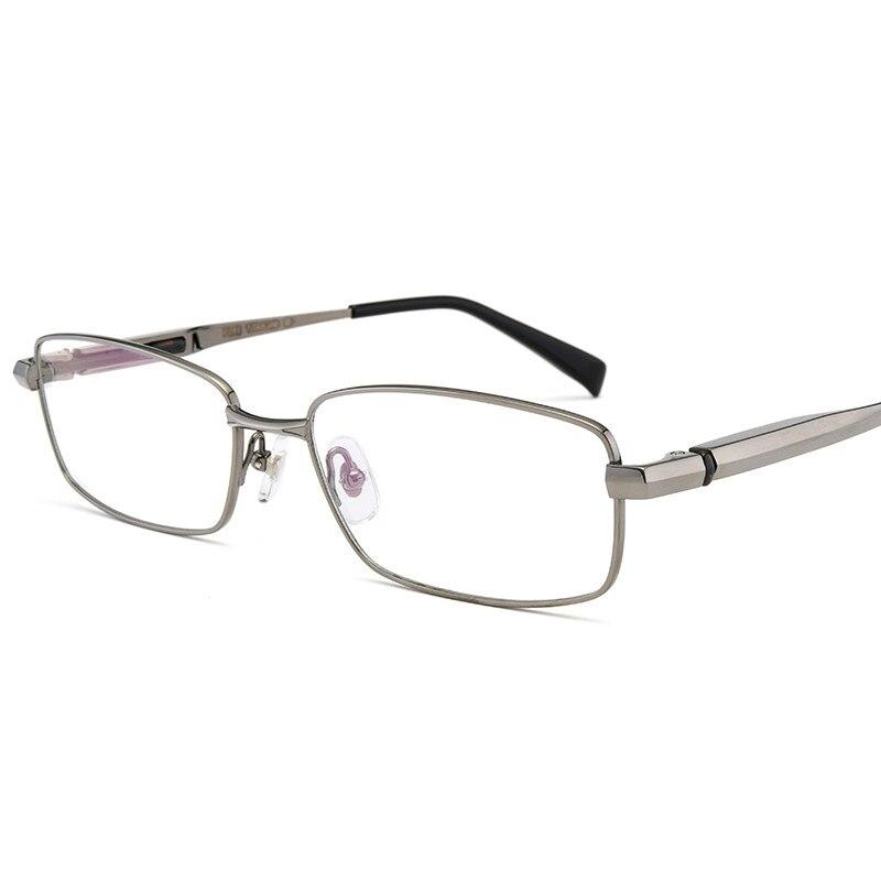 Vazrobe lunettes titane hommes plein/demi lunettes cadre homme Ultra-léger Prescription lunettes optiques lunettes pour homme