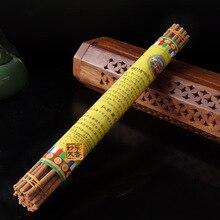 Palos de Incienso hecho a mano De Tíbet Nyemo Condado, meditación budista Natural de curación, la Quema de aroma agradable