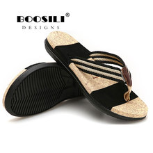 Zapatillas Hombre Rushed Men Sandals 2019 New Breath Flip Flops Men Outdoor Bath Slippers High Quality Male Stripe Flat цена 2017