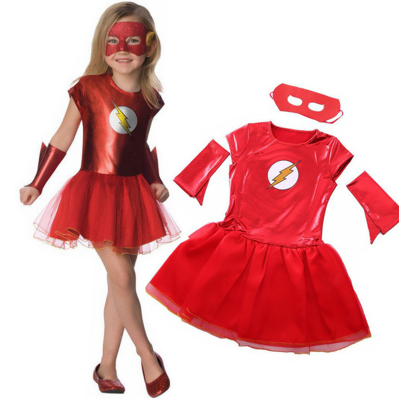 Kids Pirate ScarLet Girls Fancy Dress Costume Party Outfit