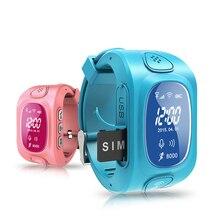 Y3 Pantalla OLED Inteligente GPS/GSM/Wifi Localizador Del Perseguidor SOS Llamada Perdida Anti Remoto Monitor de Reloj de Pulsera para Los Niños de Los Niños