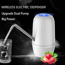 Dispensador De Agua Fria Electrico Embotellada Bottled Cold Drinking Water Dispenser Tap Electric Dual Pumps Faucet For A Bottle