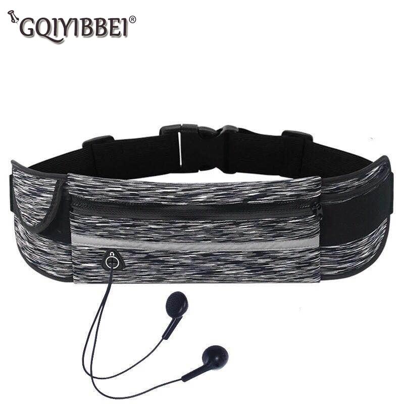 Outdoor Sport Waist Bags Running Belt Waterproof Anti-theft Jogging Men Women Gym Fitness Bag For Phones Running Accessories