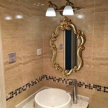 Античное зеркало для ванной комнаты, американская ванная комната, гигиена, ручная комната, Туалетная раковина, для мытья стен, декоративные часы