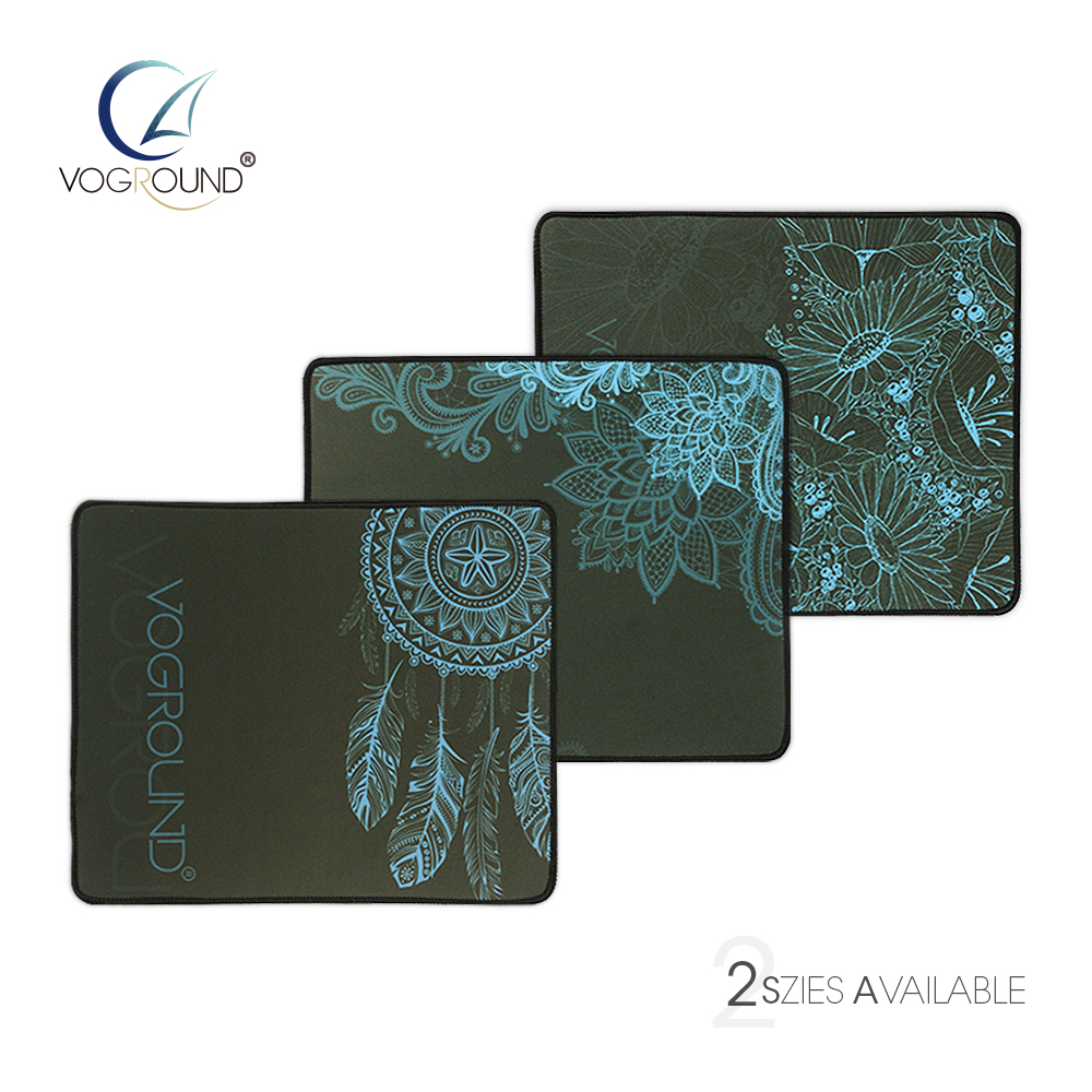 VOGROUND Locking Edge Natural Rubber Abstract Pattern Optional Mouse Pad for Desk Grande Gaming Mousepad Mat for LOL cs dota 2 babaite super large size optional mouse pad natural rubber material waterproof desk mat for 400x900x2mm