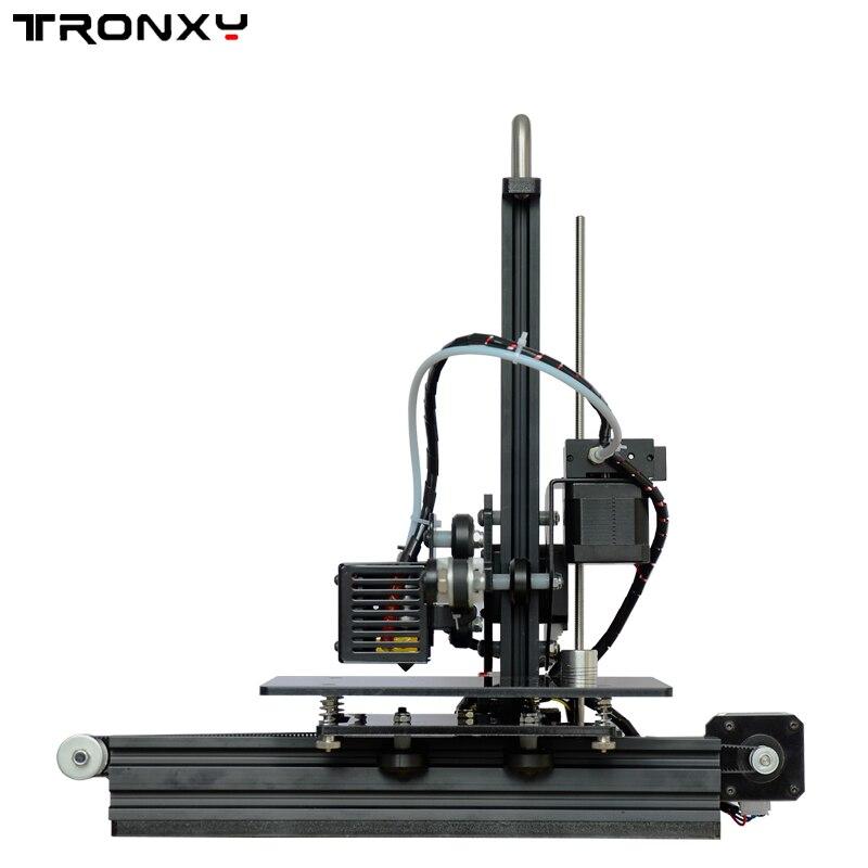 TRONXY X1 De Bureau DIY 3D Imprimante Kit 150*150*150mm Taille D'impression 1.75mm Soutien Off- ligne D'impression