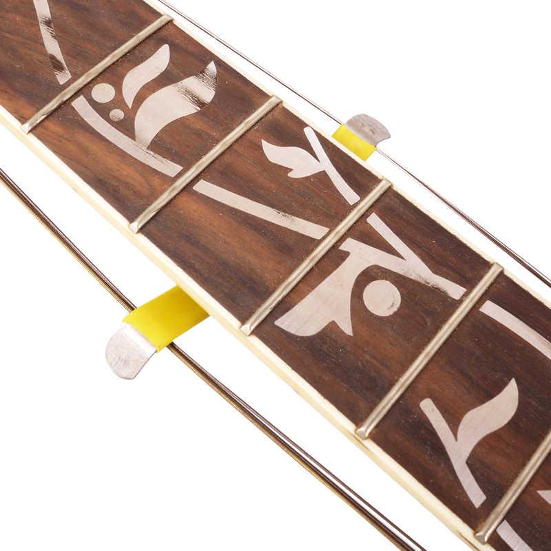 2 pièces guitare basse Luthier chaîne épandeur support Fret outil de soin pour le nettoyage de la guitare de nettoyage
