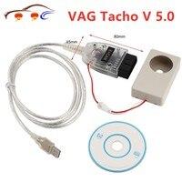 Drop Ship VAG Tacho V 5.0 USB Interface Automotive Diagnostics Portable Car Diagnostic Tool For NEC MCU 24C32 or 24C64 VAGTACHO