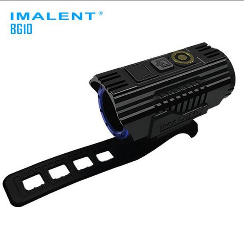IMALENT BG10 CREE XHP50 2300 Lumens intelligent-adapter la lumière de bicyclette de LED