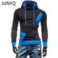 2017 Hot Sale Autumn Men Hoodies Casual Hoody Sweatshirt Men Fashion Patchwork Brand Hoodie Jacket Man Pullovers Sportswear
