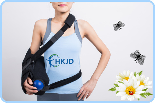 Shoulder Immobiliser with Exercise Ball  Aid Recovery of Disclocated Shoulder on  Post Surgery & Injury Shoulder Sling Arm Sling