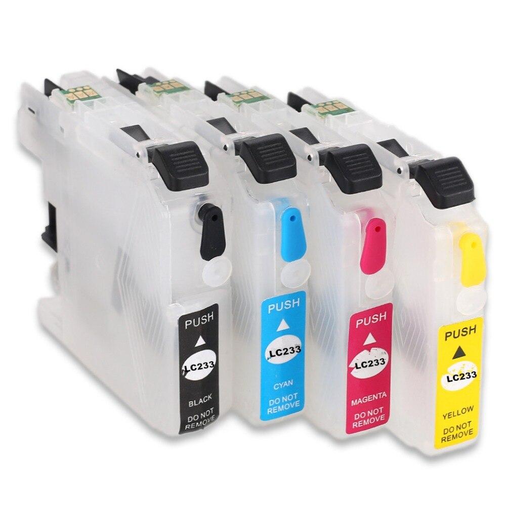 LC233 пустой многоразовый картридж для принтера Brother MFC-J5720DW J5320DW J480DW J680DW J4620DW J4120DW J880DW DCP-J562DW