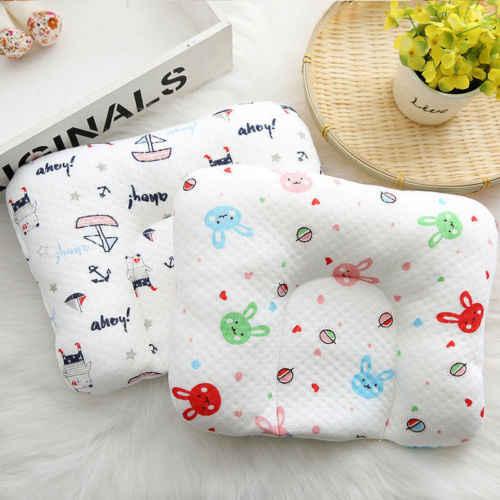 Младенческой новорожденных детские подушки Предотвращение плоской головкой сна Гнездо Pod Анти ролл