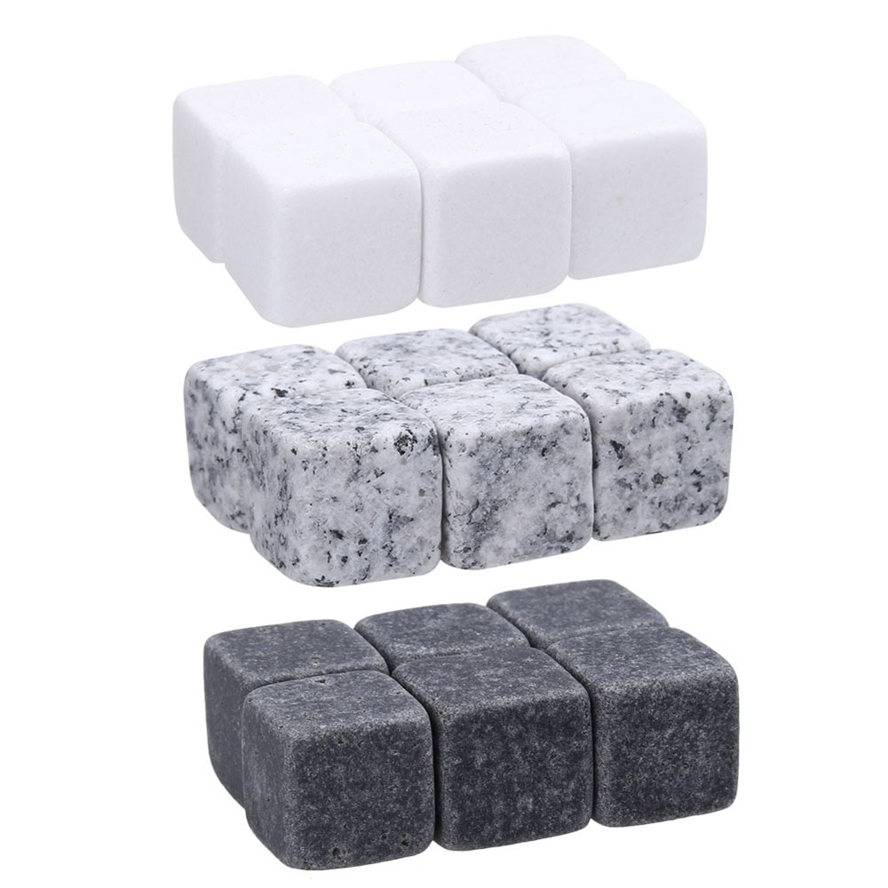 6pcs/Pack Stone Ice Cubes