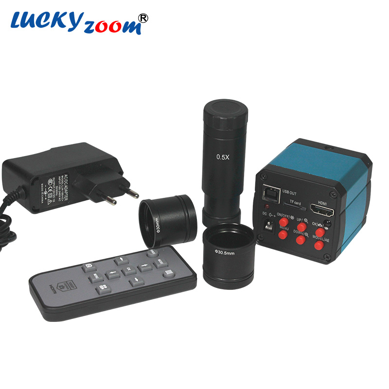 14MP HDMI CMOS USB2.0 Numérique L'industrie Électronique Vidéo Microscope HD Industrielle Caméra Vidéo pour Microscope Oculaire C-montage