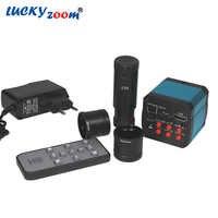 14MP HDMI CMOS USB2.0ดิจิตอลอุตสาหกรรมอิเล็กทรอนิกส์กล้องจุลทรรศน์วิดีโอHDกล้องอุตสาหกรรมวิดีโอสำหรับกล้องจุลทรรศน์ช่องมองภาพC-mount