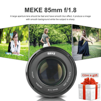 Meike 85mm F/1.8 Auto Focus Lens for Canon EOS EF Mount 600D 6D 7D 80D 1100D 1200D 60D 70D 1300D 5D3 5D2 750D 650D DSLR Camera