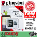 Kingston micro sd memory card 16gb 32gb 64gb 128gb 256gb class 10 tarjeta microsd cartao de memoria carte sd tf wholesale lot