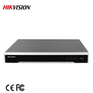 Image 2 - Stok hikvision DS 7608NI I2/8P İngilizce sürüm 8ch NVR 8POE portları ile 2SATA kadar 12 megapiksel çözünürlüklü kayıt