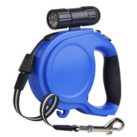 8M 50kg Large Dog Leash Retractable Extending Pet Leash Lead For Big And Medium Dog With