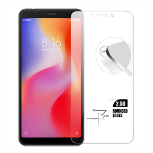 """Image 2 - 2PACK 2. 5D 9H Tempered Glass For Xiaomi Redmi 6A Screen Protector For Xiaomi Redmi 6 Toughened Protective Film 5.45"""" Phone"""