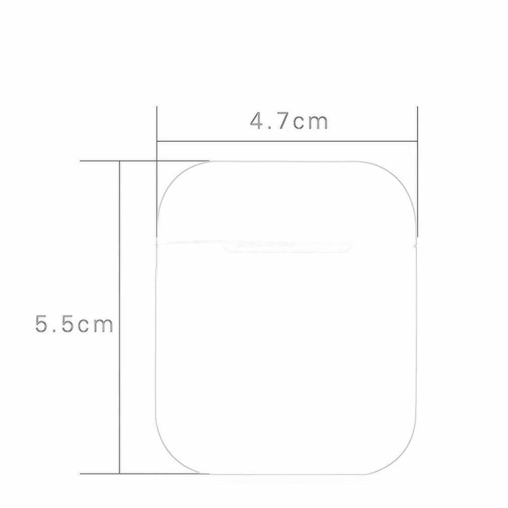Coque en silicone souple écouteurs pour Apple Airpods étui Bluetooth sans fil écouteur housse de protection pour Air Pods oreille Pods sac