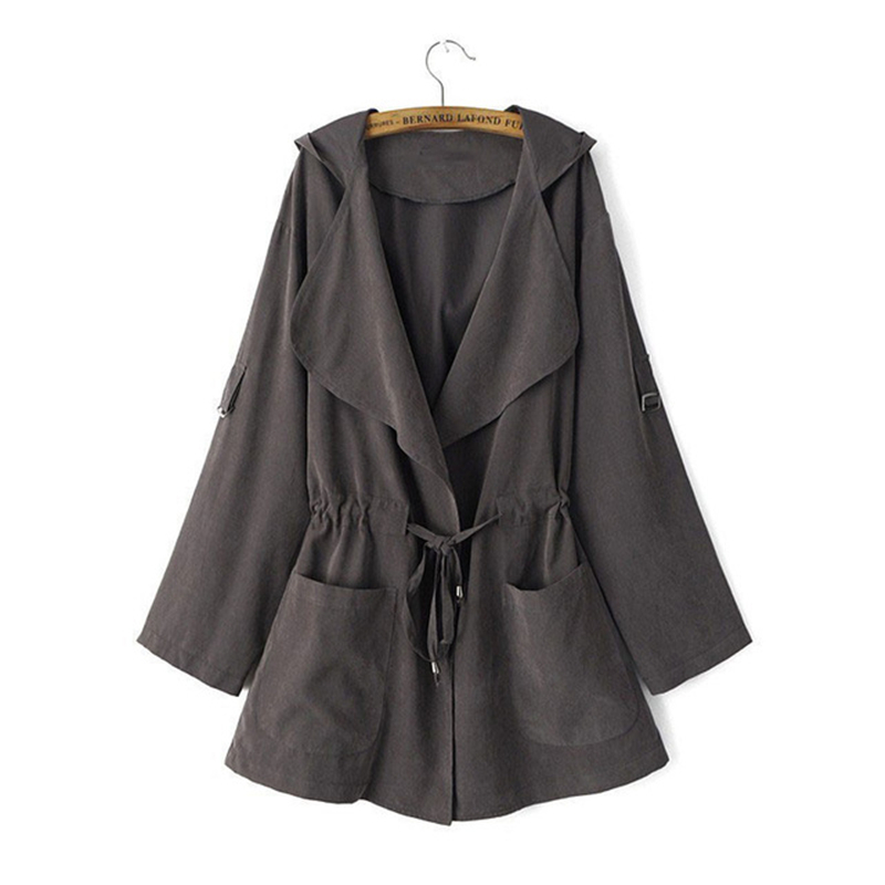 YRRETY Fashion Autumn Spring Women   Jackets   Open Front Coat Long Cloak   Jackets   Overcoat Long Sleeve Female Knitted   Basic     Jackets