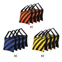 Jrgk photo studio contrapeso peso sacos de areia para luz flash suporte boom tripé de alta qualidade photo studio kits acessórios