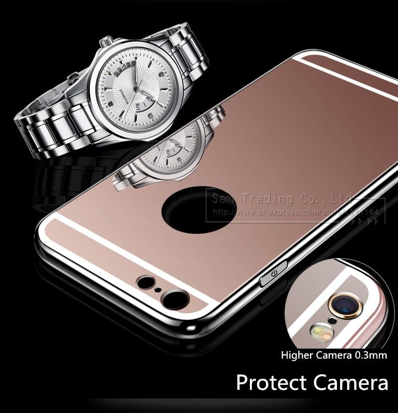 Cermin mewah TPU lembut kasus untuk iPhone 5S 5 se, Tas ponsel kasus - Aksesori dan suku cadang ponsel - Foto 6
