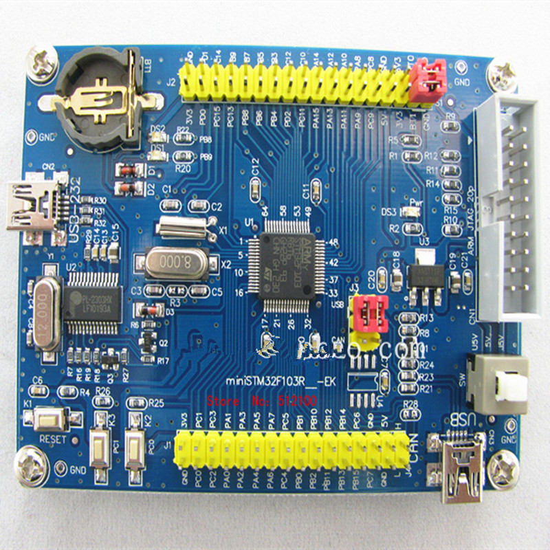 Download STM32F103RBT6 5PCS 72mhz/usb-A-Key Mini To