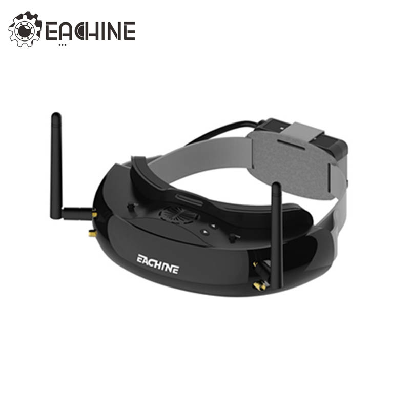 Eachine EV200D 1280*720 5.8G 72CH True Diversity FPV Goggles HD Port in 2D/3D Built in DVR For RC Drone VS EV100D Black White-in Parts & Accessories from Toys & Hobbies    1