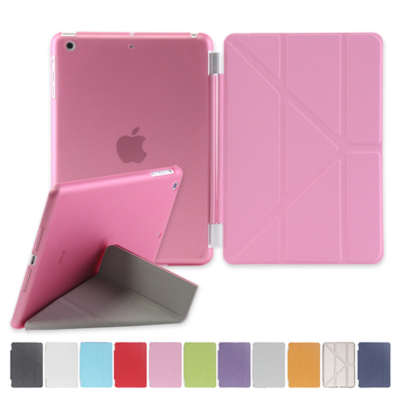Cover For Ipad Mini 123 Case Wake And Sleep Function Multiple