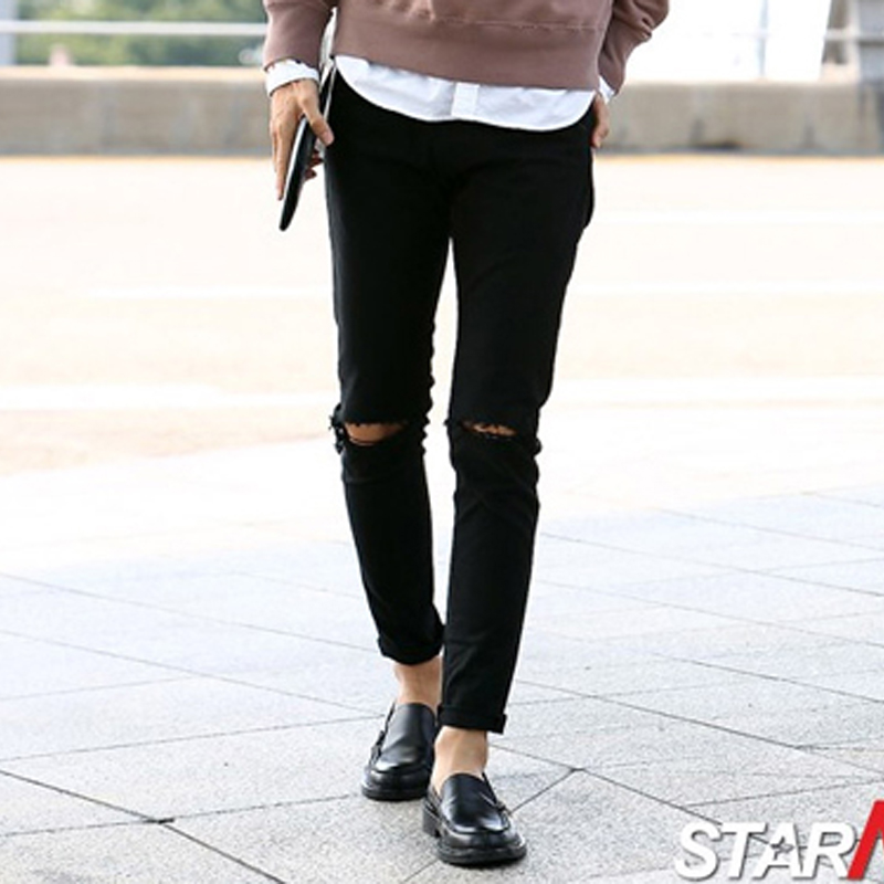 Aliexpress.com : Buy Jeans Men 2015 Brand New Those Days Knee ...