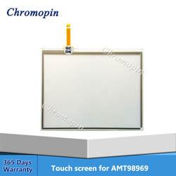 Oryginalny AMT98969 AMT 98969 98969000 103801319 AMT 98969 Panel szklany ekran dotykowy w Panele ekranów dotykowych od Komputer i biuro na