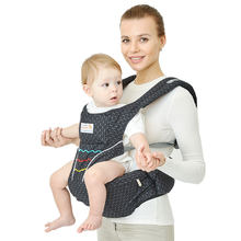 Aimama 0-36 months multi-purpose baby carrier Hip Seat baby sling backpack Kangaroos baby wrap Traction belt(China)