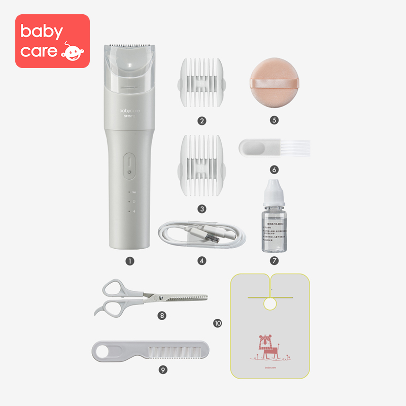 babycare Hair Clipper Ultra quiet Home Hair Newborn Baby Razor Rechargeable Electric Hair Clipper in Hair Trimmers from Mother Kids