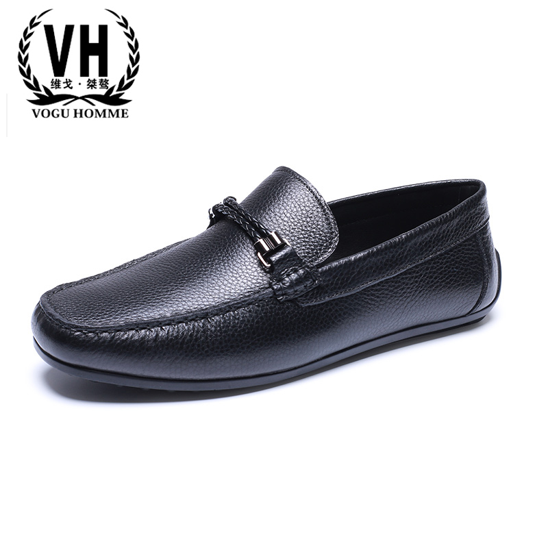 Men's shoes Genuine Leather all-match cowhide casual loafer shoes men driving shoes male shoes soft breathable sneaker fashion men luxury brand new genuine leather shoes fashion big size 39 47 male breathable soft driving loafer flats z768 tenis masculino